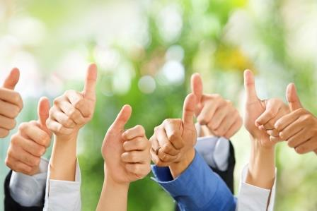 Thumbs up for positive psychology