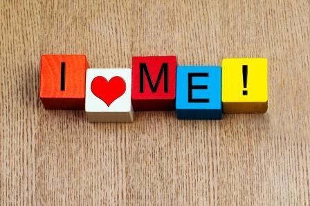 I Love Me – sign
