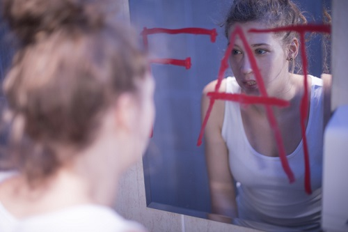 Fat writing on mirror