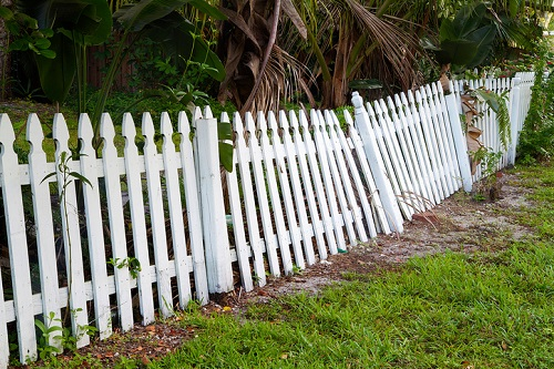 boundaries for your family wood fence DD