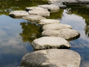 stepping stones for living with uncertainty